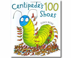 Centipede's One Hundred Shoes - Fun 100th Day of School Books for Kids