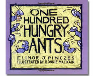 One Hundred Hungry Ants - Fun 100th Day of School Books for Kids