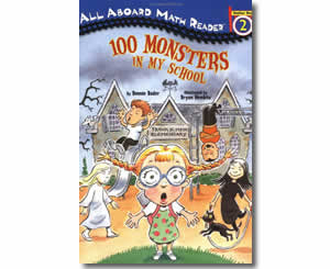 One Hundred Monsters in My School - Fun 100th Day of School Books for Kids