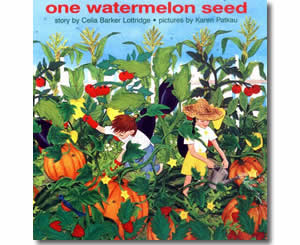 One Watermelon Seed - Fun 100th Day of School Books for Kids
