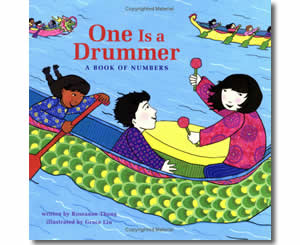 Chinese New Year Books for kids - One is a Drummer