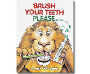 Brush Your Teeth Please - Dental Health Month Books for Kids
