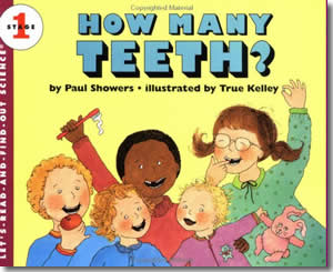 How Many Teeth? - Dental Health Month Books for Kids