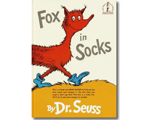 Dr. Seuss Books for kids - Fox in Socks