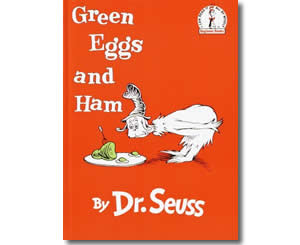 Dr. Seuss Books for kids - Green Eggs and Ham