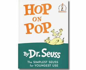 Dr. Seuss Books for kids - Hop on Pop