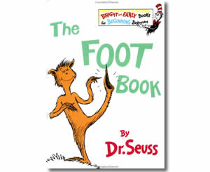 Dr. Seuss Books for kids - The Foot Book