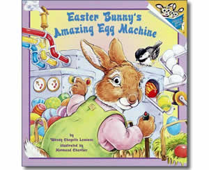 Easter Bunny's Amazing Egg Machine - Fun Easter Books for Kids