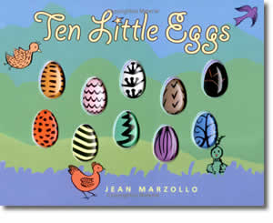 Ten Little Eggs - Fun Easter Books for Kids