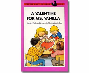 A Valentine for Ms. Vanilla - Valentines Day Books for Kids