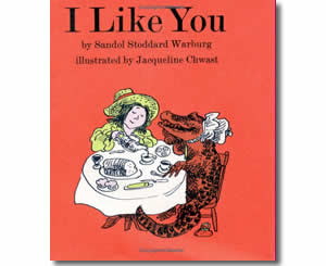 i like you valentines day books for kids