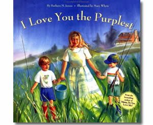 I Love You the Purplest - Valentines Day Books for Kids