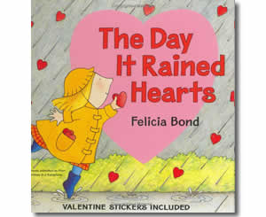 The Day it Rained Hearts - Valentines Day Books for Kids
