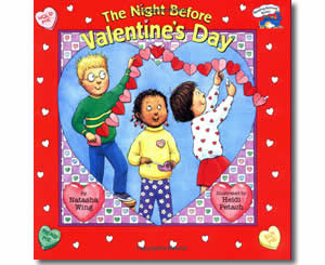 The Night Before Valentine's Day - Valentines Day Books for Kids