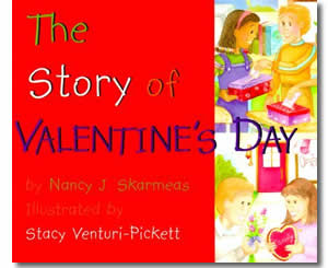 the story of valentines day valentines day books for kids