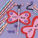 Candy and Foam Valentine Luv Bug Craft Kit 