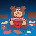 Foam Valentine Bear Box