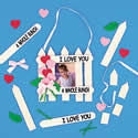 I Love You Photo Frame Craft