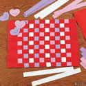 Valentine Weave Placemat